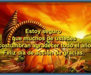 Imagenes Con Mensajes Para El Día De Acción De Gracias