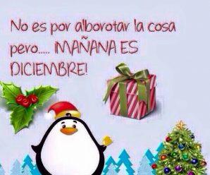 Imagenes Mañana Es Diciembre Para WhatsApp