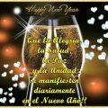 Imagenes Brindis De Año Nuevo Con Mensajes