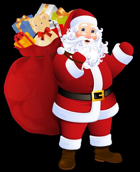 Imagenes De Papa Noel Animado.Dibujos De Papa Noel Para Descargar