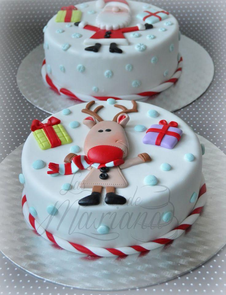 Ideas para galletas y pasteles navideños