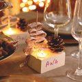 Ideas De Marcadores De Navidad Para La Mesa De La Cena