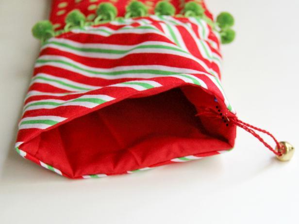 Linda bota elfo para navidad patrones