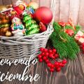 Postales Hermosas Que Diga Bienvenido diciembre