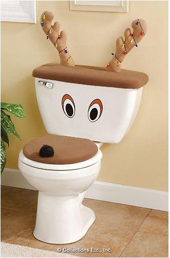Motivos navideños para el baño