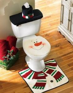 baños navideños ideas para decorar