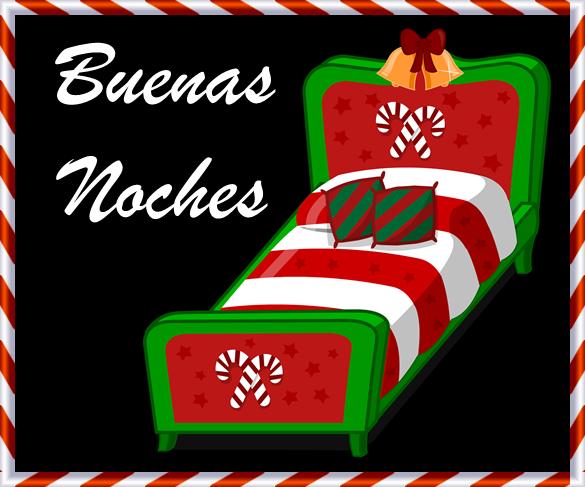 Imagen buenas noches en navidad para enviar