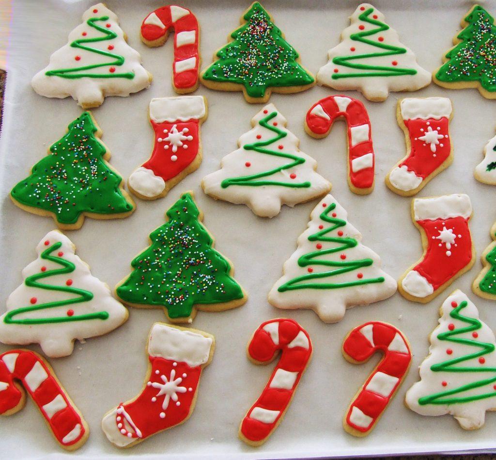 Imagen con ideas para realizar galletas de navidad
