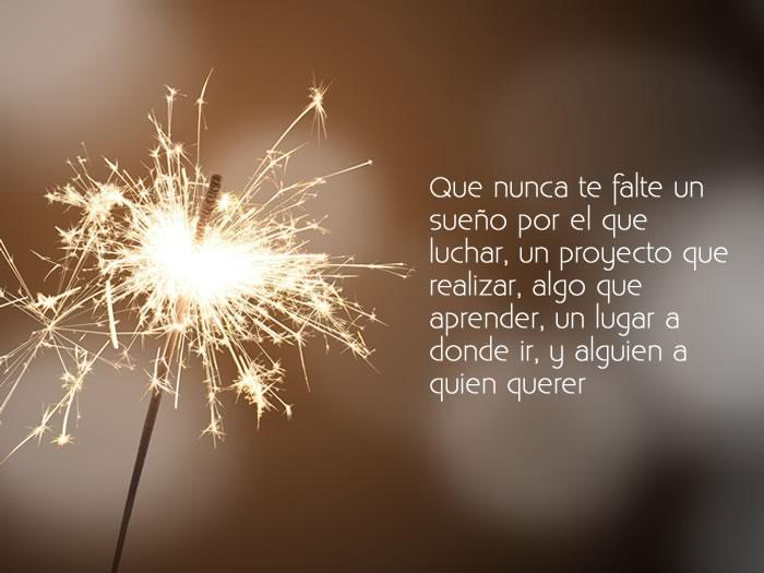 Imagen con mensaje para año nuevo para compartir con mis amigos
