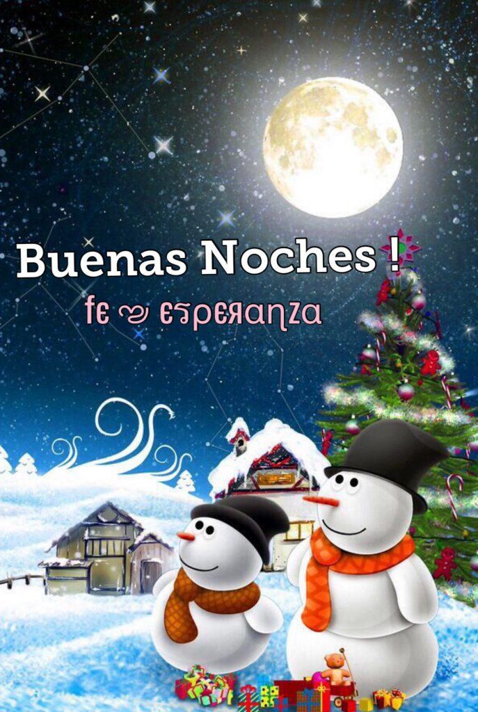 Imagen de navidad buenas noches para facebook