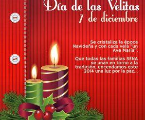 Imagenes Con Mensaje Para Enviar El Día De Las Velitas