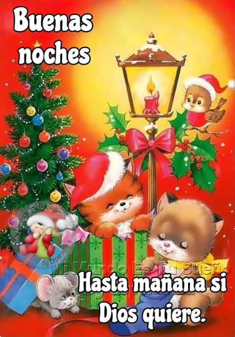 Imagenes de buenas noches en navidad