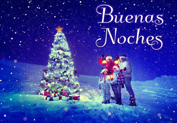 Imagenes navideñas para dar las buenas noches