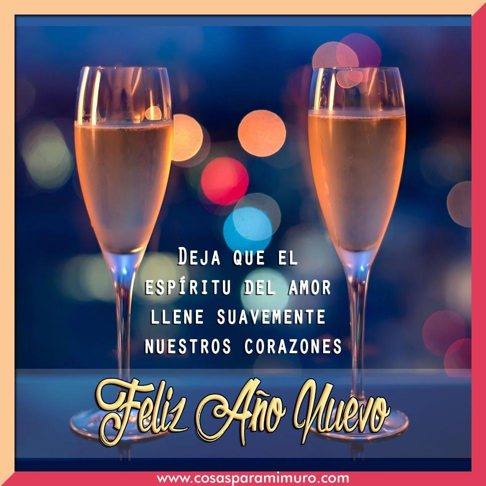Mensaje brindis feliz año nuevo para mis amigos