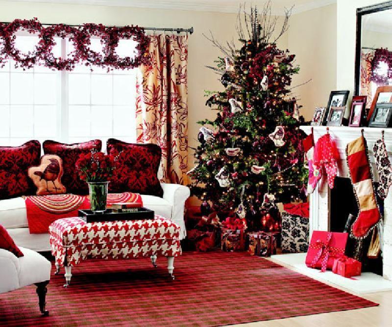Formas De Decorar En Navidad.21 Hermosas Formas De Decorar La Sala De Estar Para La Navidad