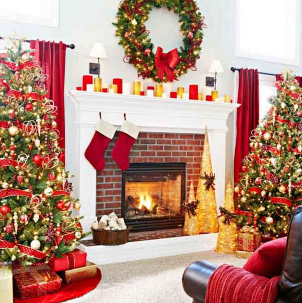 Formas para decorar tu sala en navidad