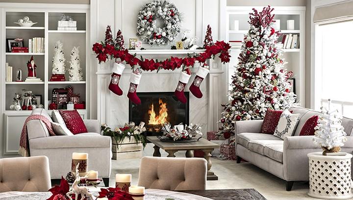Ideas de decoracion navidad para la sala