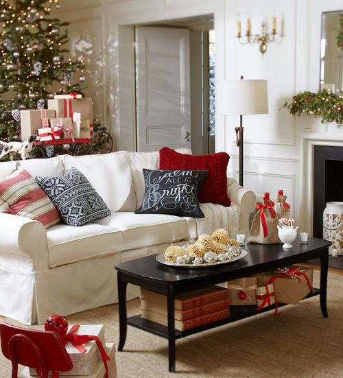 Ideas para decorar la sala en navidad