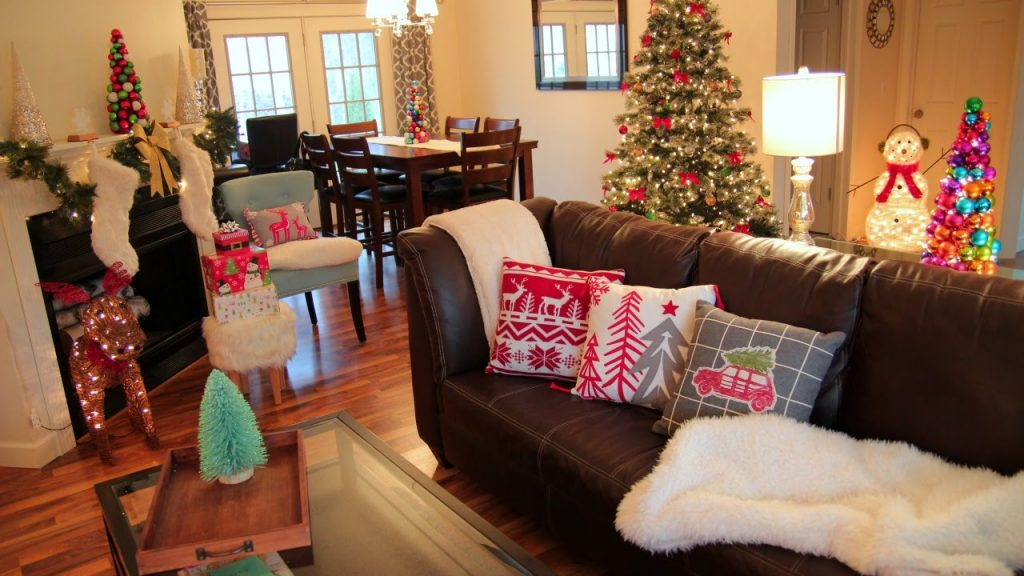 Imagenes de salas decoradas en navidad