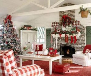 21 Hermosas Formas De Decorar La Sala De Estar Para La Navidad
