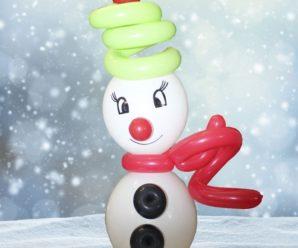 Muñeco De Nieve 10 Manualidades
