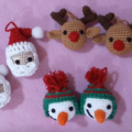 Esferas Navideñas a Crochet Para Decorar El Árbol