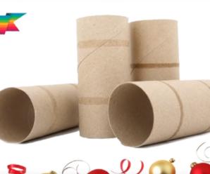 4 Manualidades Para Navidad Con Reciclaje De Rollos De Papel Higienico