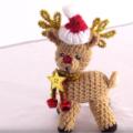 Como Hacer A Rodolfo El Reno A Crochet