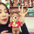 Como Hacer Un Reno Amigurumi Para Navidad